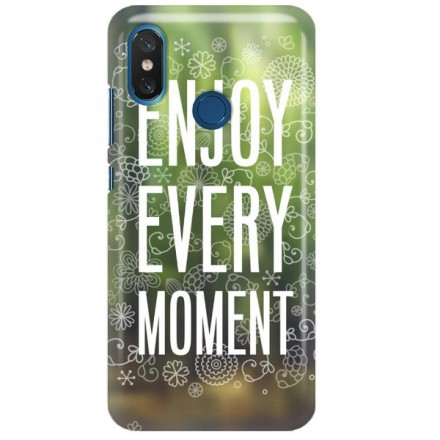 Etui na telefon XIAOMI MI8 ENJOY EVERY MOMENT