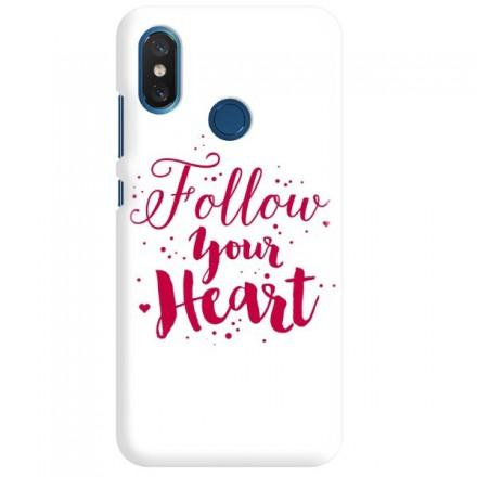 Etui na telefon XIAOMI MI8 FOLLOW YOUR HEART