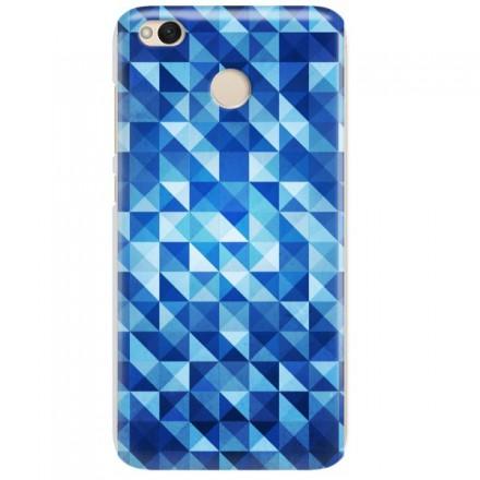 Etui na telefon XIAOMI REDMI 4X BLUE GEOMETRIC