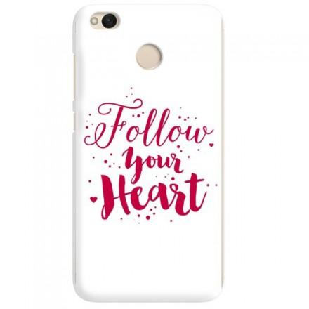 Etui na telefon XIAOMI REDMI 4X FOLLOW YOUR HEART