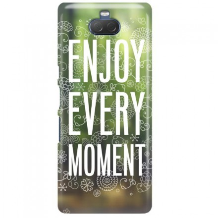 Etui na telefon SONY XPERIA XA3 ENJOY EVERY MOMENT