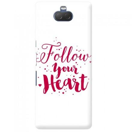 Etui na telefon SONY XPERIA XA3 FOLLOW YOUR HEART