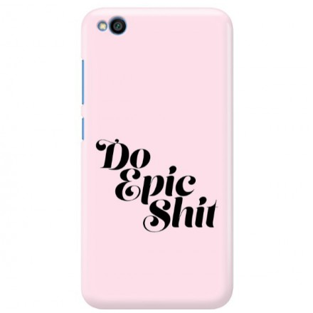 Etui na telefon XIAOMI REDMI GO DO EPIC SHIT