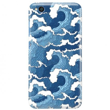 Etui na telefon XIAOMI REDMI GO FALE WAVES