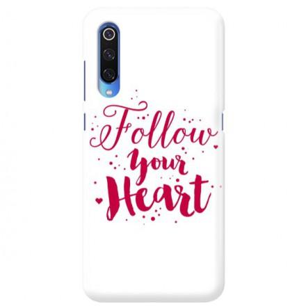 Etui na telefon XIAOMI MI 9 FOLLOW YOUR HEART