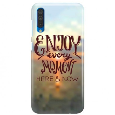 Etui na telefon SAMSUNG GALAXY A50 ENJOY EVERY MOMENT