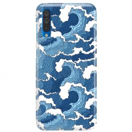 Etui na telefon SAMSUNG GALAXY A50 FALE WAVES
