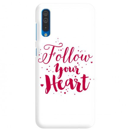 Etui na telefon SAMSUNG GALAXY A50 FOLLOW YOUR HEART