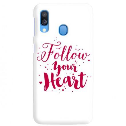 Etui na telefon SAMSUNG GALAXY A40 FOLLOW YOUR HEART
