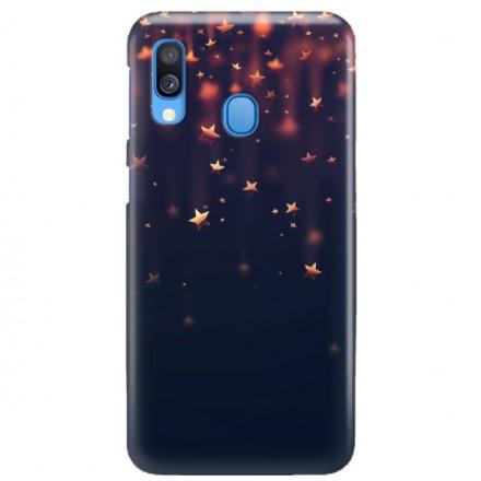 Etui na telefon SAMSUNG GALAXY A40 GWIAZDKI STARS