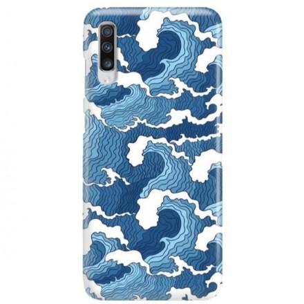 Etui na telefon SAMSUNG GALAXY A70 FALE WAVES