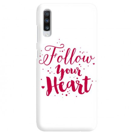 Etui na telefon SAMSUNG GALAXY A70 FOLLOW YOUR HEART