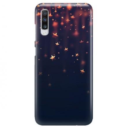 Etui na telefon SAMSUNG GALAXY A70 GWIAZDKI STARS