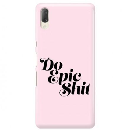 Etui na telefon SONY XPERIA L3  DO EPIC SHIT