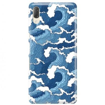 Etui na telefon SONY XPERIA L3  FALE WAVES