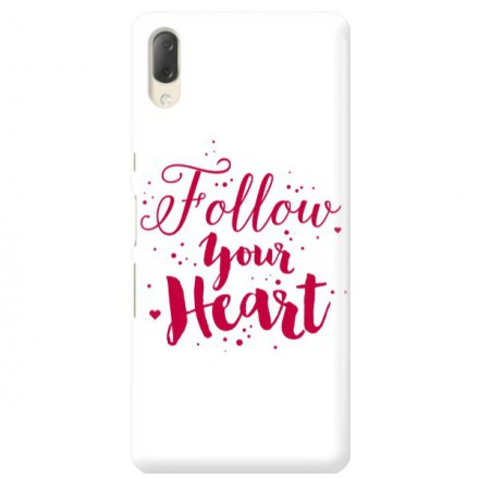 Etui na telefon SONY XPERIA L3  FOLLOW YOUR HEART