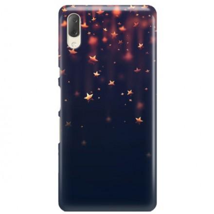 Etui na telefon SONY XPERIA L3  GWIAZDKI STARS