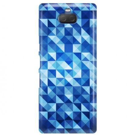 Etui na telefon SONY XPERIA XA3 ULTRA BLUE GEOMETRIC