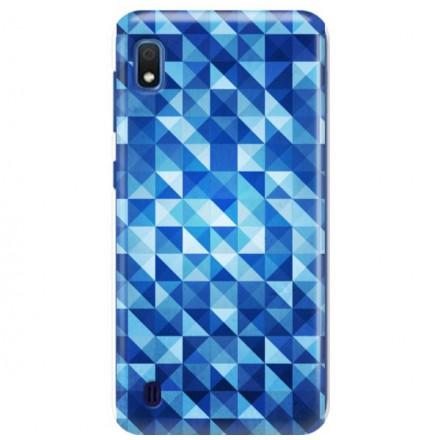 Etui na telefon SAMSUNG GALAXY A10 BLUE GEOMETRIC
