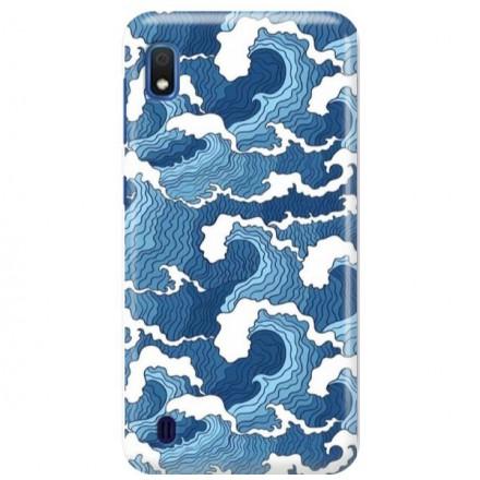 Etui na telefon SAMSUNG GALAXY A10 FALE WAVES