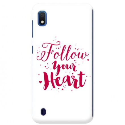 Etui na telefon SAMSUNG GALAXY A10 FOLLOW YOUR HEART