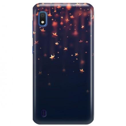 Etui na telefon SAMSUNG GALAXY A10 GWIAZDKI STARS