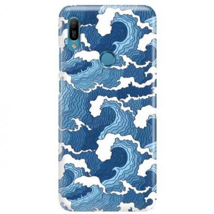 Etui na telefon HUAWEI Y6 2019 FALE WAVES