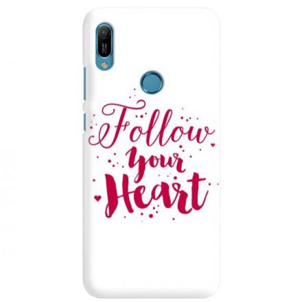 Etui na telefon HUAWEI Y6 2019 FOLLOW YOUR HEART
