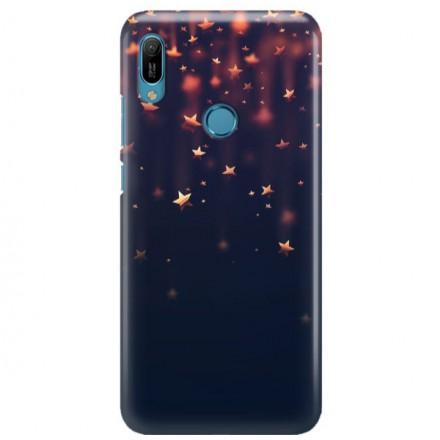 Etui na telefon HUAWEI Y6 2019 GWIAZDKI STARS