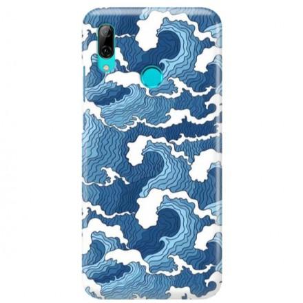 Etui na telefon HUAWEI Y7 2019 FALE WAVES