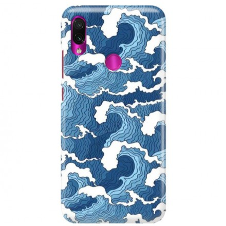 Etui na telefon XIAOMI REDMI NOTE 7 FALE WAVES