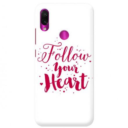 Etui na telefon XIAOMI REDMI NOTE 7 FOLLOW YOUR HEART