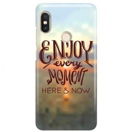 Etui na telefon XIAOMI REDMI NOTE 5 PRO ENJOY EVERY MOMENT