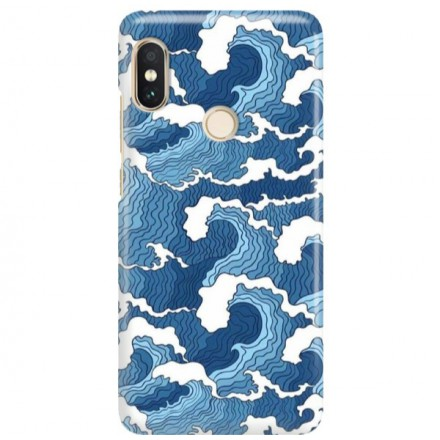 Etui na telefon XIAOMI REDMI NOTE 5 PRO FALE WAVES