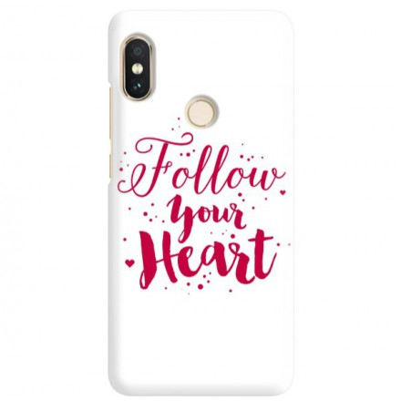 Etui na telefon XIAOMI REDMI NOTE 5 PRO FOLLOW YOUR HEART