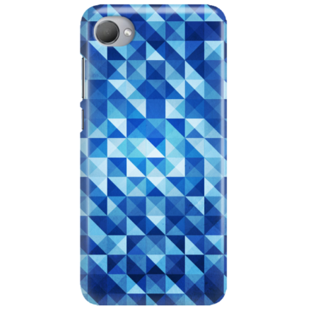 Etui na telefon HTC DESIRE 12 PLUS BLUE GEOMETRIC