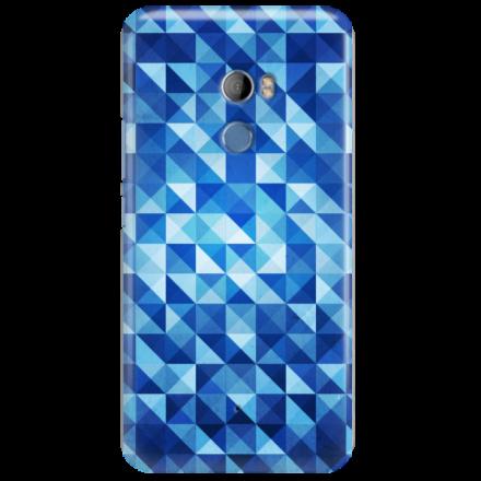 Etui na telefon HTC U11 PLUS BLUE GEOMETRIC