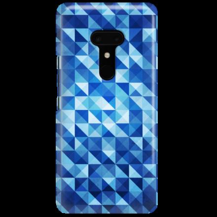 Etui na telefon HTC U12 PLUS BLUE GEOMETRIC