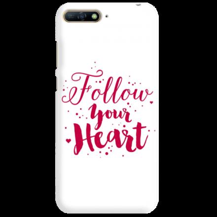 Etui na telefon HUAWEI Y7 2018 / Y7 PRIME 2018 FOLLOW YOUR HEART