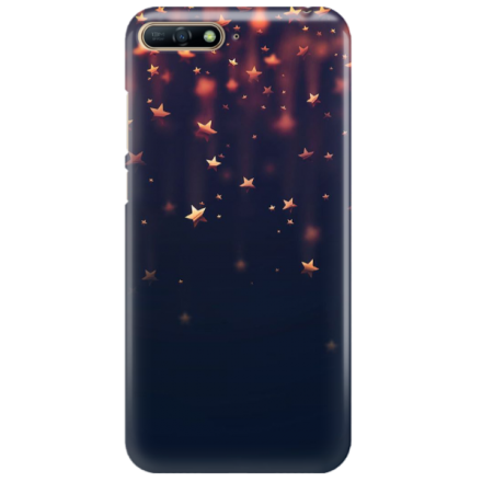 Etui na telefon HUAWEI Y7 2018 / Y7 PRIME 2018 GWIAZDKI STARS