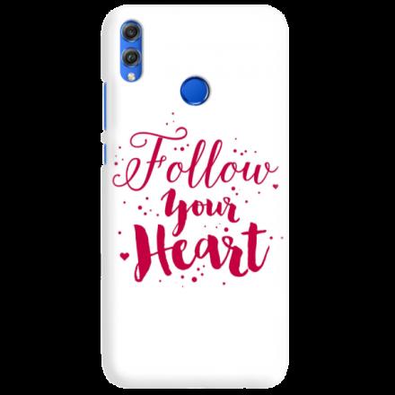 Etui na telefon HUAWEI HONOR 8X FOLLOW YOUR HEART