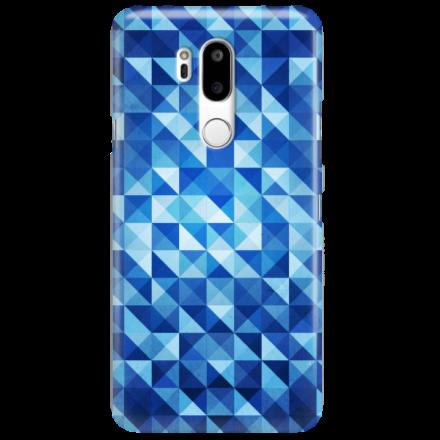 Etui na telefon LG G7 BLUE GEOMETRIC