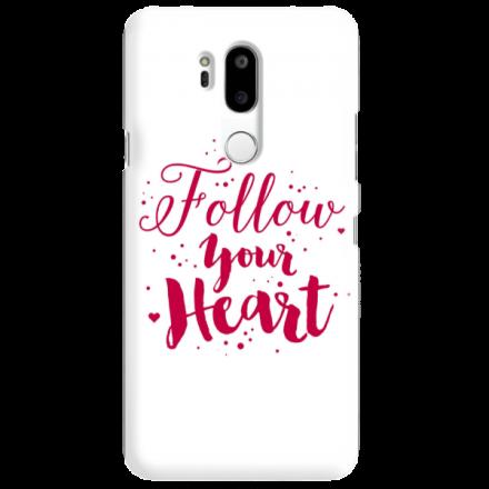 Etui na telefon LG G7 FOLLOW YOUR HEART