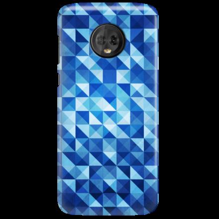 Etui na telefon MOTOROLA MOTO G6 BLUE GEOMETRIC