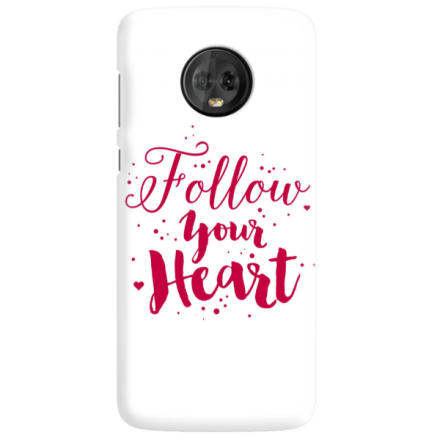 Etui na telefon MOTOROLA MOTO G6 FOLLOW YOUR HEART