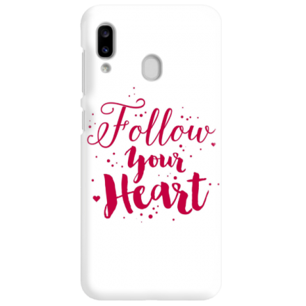 Etui na telefon SAMSUNG GALAXY A20E FOLLOW YOUR HEART