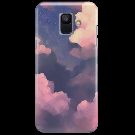 Etui na telefon SAMSUNG GALAXY A6 2018 CLOUDS