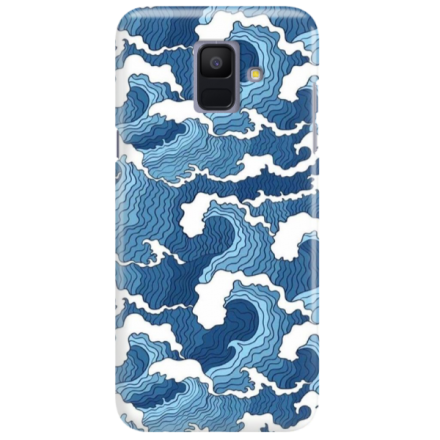 Etui na telefon SAMSUNG GALAXY A6 2018 FALE WAVES