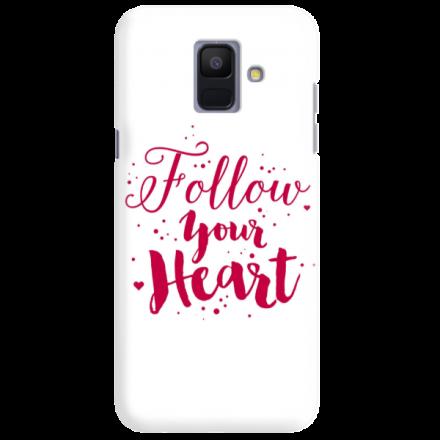 Etui na telefon SAMSUNG GALAXY A6 2018 FOLLOW YOUR HEART