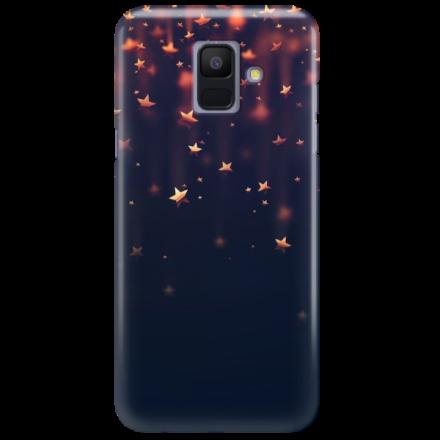 Etui na telefon SAMSUNG GALAXY A6 2018 GWIAZDKI STARS